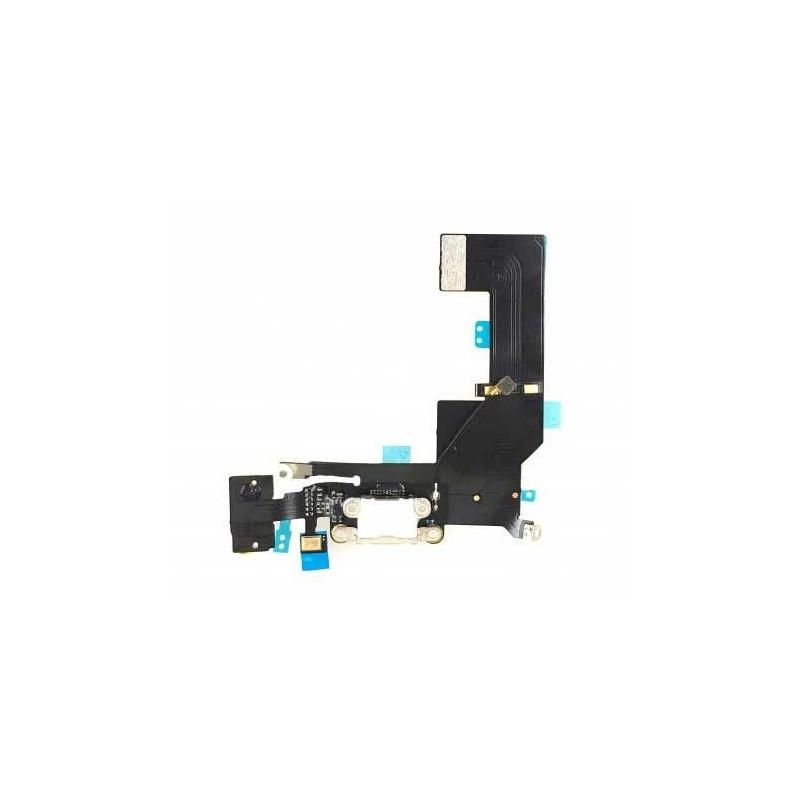 Connecteur de charge pour iPhone SE Blanc