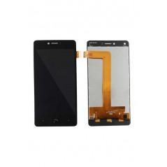 Ecran LCD BQ Aquaris U Plus Noir (LCD + Vitre tactile)