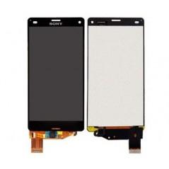Ecran Sony Xperia Z3 compact Noir (LCD + vitre tactile) sans chassis