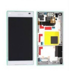 Ecran LCD Sony Xperia Z5 Compact Blanc Origine Constructeur