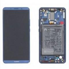 Écran complet Neuf avec Batterie pour Huawei Mate 10 Pro Bleu