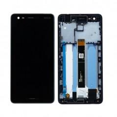 Ecran Nokia 2.1 Bleu Noir Avec Chassis