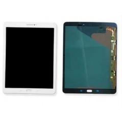 Ecran LCD + Vitre Samsung Tab S2 Blanc (SM-T813) (Service Pack)