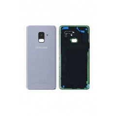 Back Cover Samsung Galaxy A8 2018 Gris Service Pack