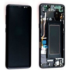 Ecran Samsung Galaxy S8 Plus - Noir Carbone (Service Pack)