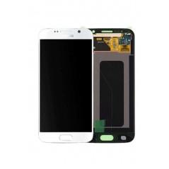 Ecran LCD Samsung Galaxy S6 Blanc en Service Pack