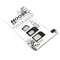 Noosy adaptateur pour micro et nano sim