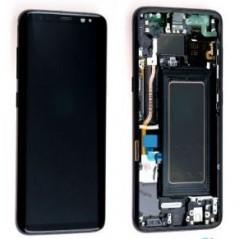 Ecran Samsung Galaxy S8 - Noir Carbone (Service Pack)