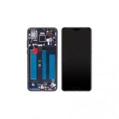 Ecran LCD Huawei P20 Noir Reconditionné Avec Châssis