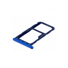 Tiroir double carte SIM Huawei P20 Lite Bleu