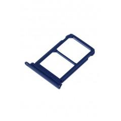 Tiroir double carte SIM Huawei P20 Pro Bleu
