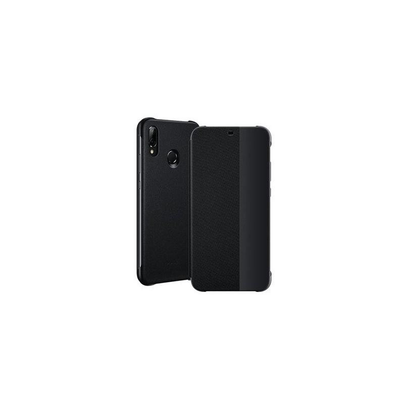 Etui Portefeuille Flip pour Huawei P20 Lite Noir