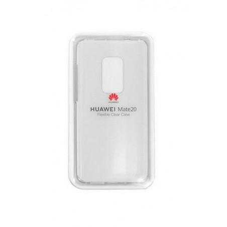 Coque Silicone pour Huawei Mate 20 Transparente