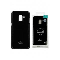 Coque silicone Huawei P8 lite 2017 Noir Goospery Jelly