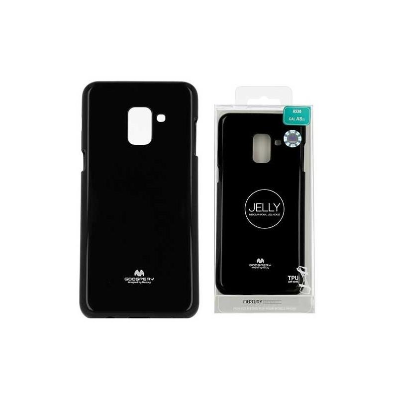 Coque silicone Goospery Jelly Huawei P8 lite 2017 Noir