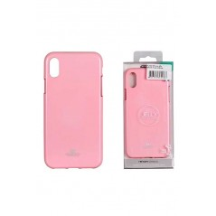 Coque silicone Huawei P8 lite 2017 Rose Goospery Jelly