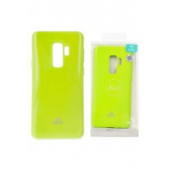 Coque silicone Samsung S9+ Vert Goospery Jelly