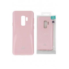 Coque Silicone Samsung S9+ Rose Clair Goospery Jelly