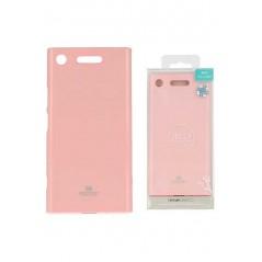 Coque silicone Sony Xperia XA1 Rose Goospery Jelly