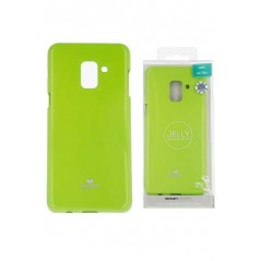 Coque silicone samsung A3 2017 Vert Goospery Jelly