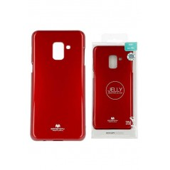 Coque silicone samsung A5 2016 Rouge Goospery Jelly