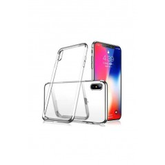 Coque Silicone Transparente iPhone X / XS