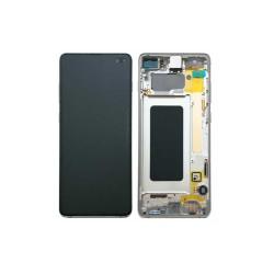 Ecran Samsung S10 Plus (SM-G975F) Noir Service Pack