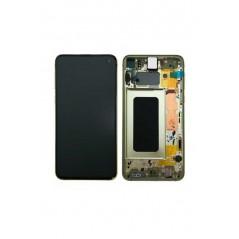Ecran Samsung S10e Jaune Service Pack