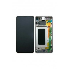 Ecran Samsung S10e Blanc Service Pack