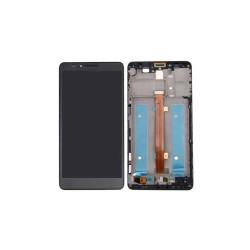 Ecran Huawei Mate 7 Noir (Reconditionné) Avec chassis