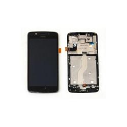 Ecran Motorola G5 Noir avec chassis (Original) reconditionné