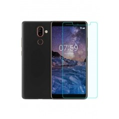 Verre trempé Nokia 7 Plus en Packaging