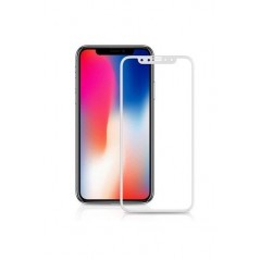 Verre trempé Smart Glass pour iPhone X/XS (3D Blanc)