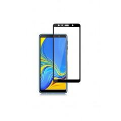 Verre trempé Smart Glass pour Samsung A7 2018 (3D Noir)