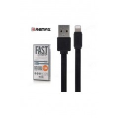 Cable Lightning Remax Fast Pro 2.4A RC-129i Noir
