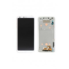 Ecran LG G6 Blanc Original (Reconditionné) avec châssis