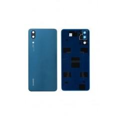 Vitre Arrière Huawei P20 Bleu Origine Constructeur