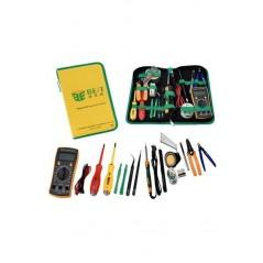 Kit de réparation 16 outils BST-113