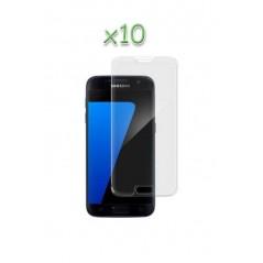 Lot 10 verres protection Samsung Galaxy S7