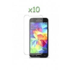 Lot 10 verres trempés Samsung Galaxy S5