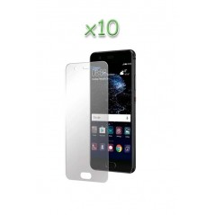 Lot 10 verres trempés Huawei P10 plus
