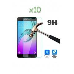 Lot 10 Verres trempés Samsung Galaxy A7 2016