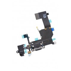 Nappe Connecteur de Charge iPhone 5C Noir