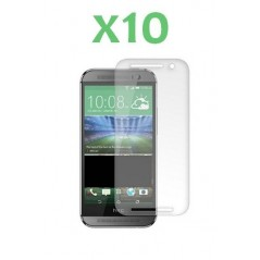 Lot de 10 Verres Trempés HTC One M8 / One M9