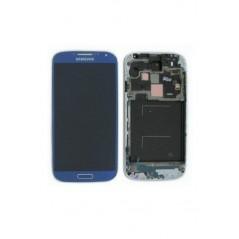 Écran LCD pour Samsung Galaxy S4 Bleu Service Pack