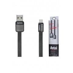 Câble USB Type C RC-044a Remax Platinium Noir