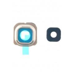Lentille caméra arrière Samsung S6 edge G925F Or