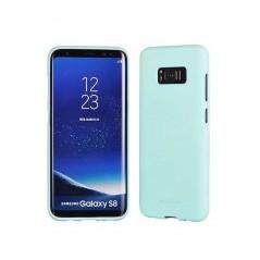 Coque silicone Samsung J7 2016 Vert D'Eau matt Soft feeling