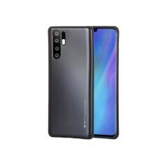 Coque I Jelly Metal Case pour Huawei P30 Pro Noir