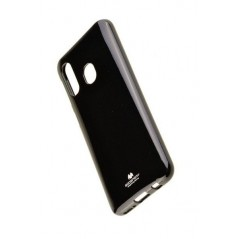 Coque Jelly pour Samsung A40 Noir